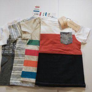 First Impression 4 Piece Set Baby Boy's Tee Shirts